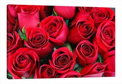 5D картина  «Букет алых роз»