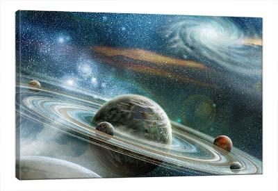 5D картина  «Космический пейзаж»