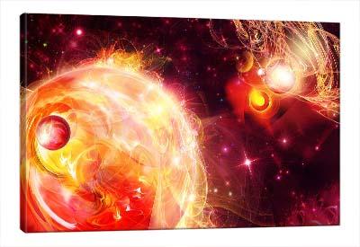 5D картина  «Пылающие звезды»