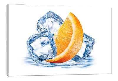 5D картина  «Лед и апельсин»