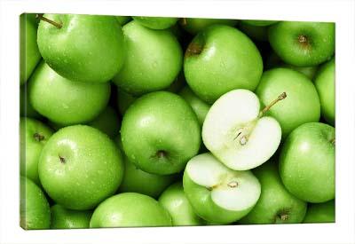 5D картина  «Композиция с зелеными яблоками»