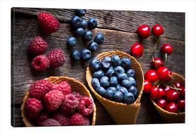 5D картина  «Свежие ягоды»