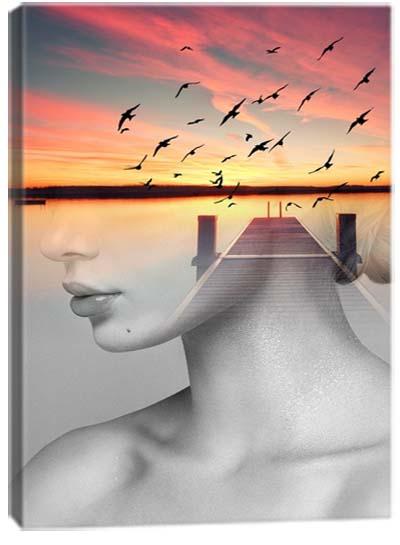 5D картина «Мечты о прекрасном. Арт 1»