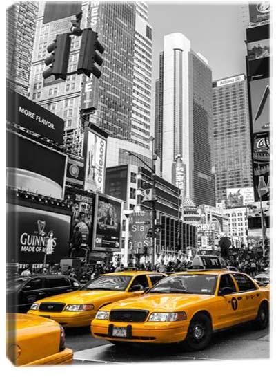 5D картина «Такси Нью-Йорка. Арт 1»