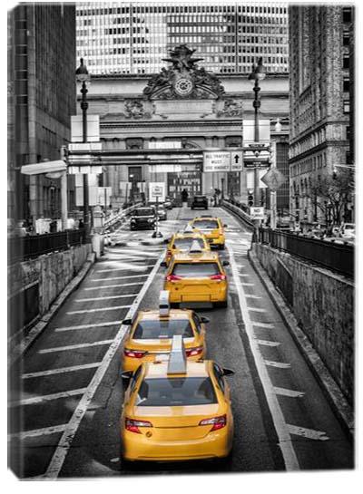5D картина «Такси Нью-Йорка. Арт 2»