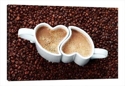 5D картина  «Кофе для влюблённых»