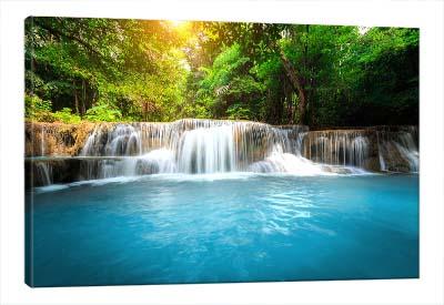 5D картина  «Голубой водопад»
