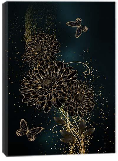 5D картина «Золотое очарование. Арт 3»