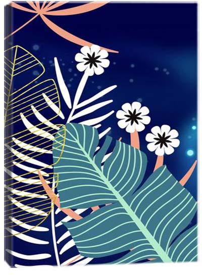 5D картина «Лунная флора. Арт 1»