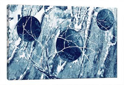 5D картина «Морозный узор»