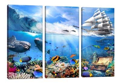 5D картина  «Морские глубины»