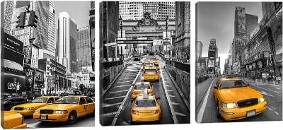 5D картина «Такси Нью-Йорка»