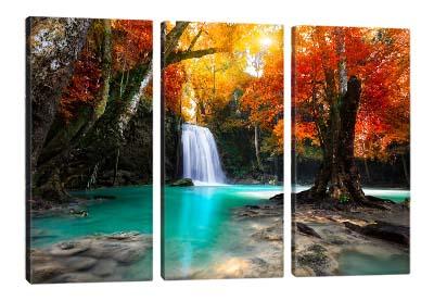 5D картина  «Девственный водопад»