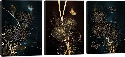 5D картина «Золотое очарование»