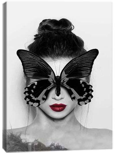 5D картина «Элегантная бабочка. Арт 1»