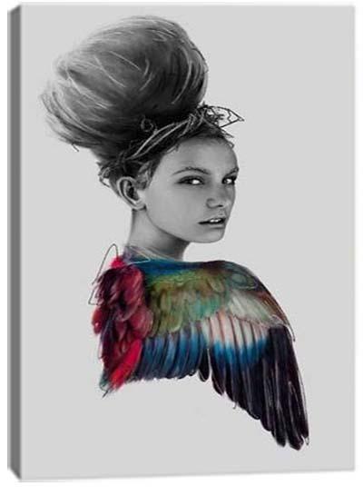 5D картина «Взмах крыльев. Арт 2»