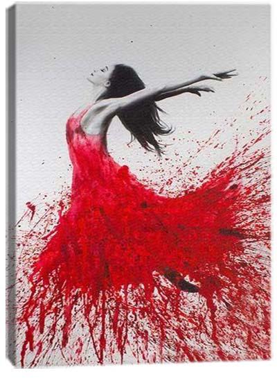 5D картина «Одинокий танец. Арт 1»