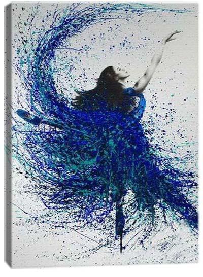 5D картина «Танец красок. Арт 3»