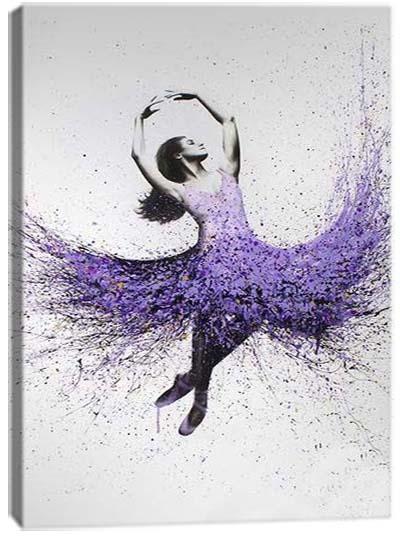 5D картина «Балет красок. Арт 1»