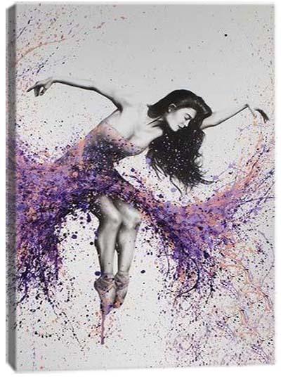 5D картина «Балет красок. Арт 3»