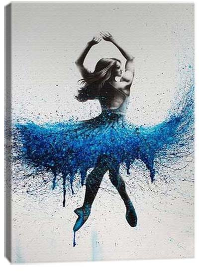 5D картина «Брызги красок. Арт 3»