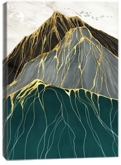 5D картина «Золотой перевал. Арт 1»