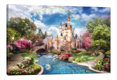 5D картина «Замок принцессы»