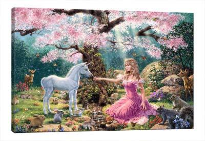 5D картина «Встреча в саду»