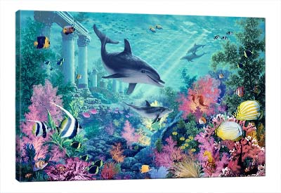 5D картина «Сказочный океан»