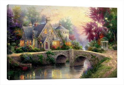 5D картина «Сказочный домик»