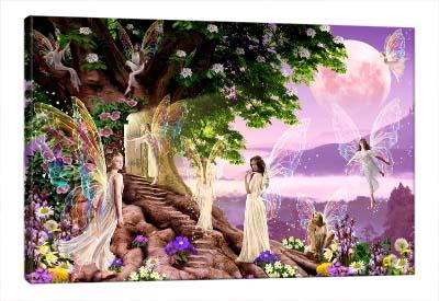 5D картина «Сказка про фей»