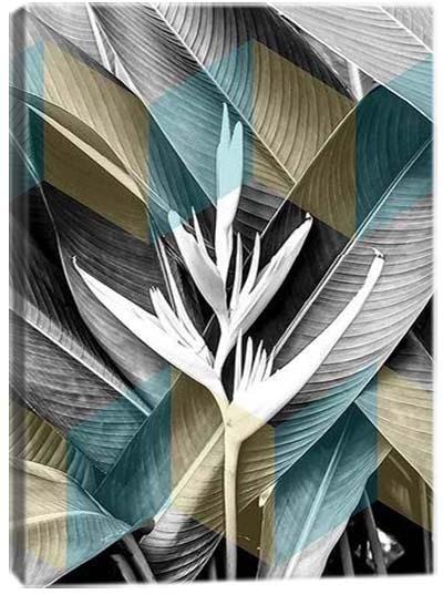 5D картина «Танец листьев. Арт 1»