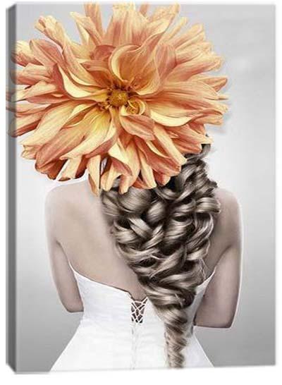 5D картина «Царский цветок. Арт 3»