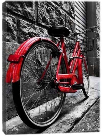 5D картина «Красный акцент. Арт 2»