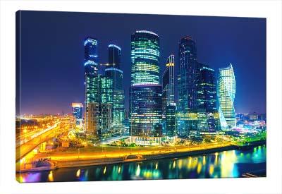 5D картина «Ночная Москва»
