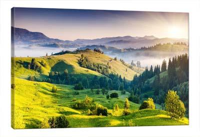 5D картина «Альпийский луг»