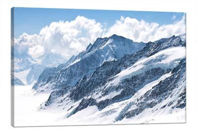 5D картина «Горный заснеженный пейзаж»