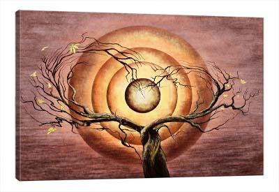 5D картина «Пылающий закат»
