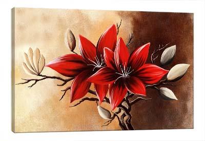 5D картина «Огненный цветок»