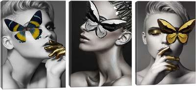 5D картина «Нежная бабочка»