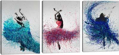 5D картина «Танец красок»