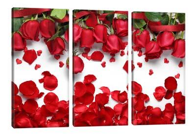 5D картина «Лепестки алых роз»