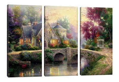 5D картина «Томас Кинкейд. Сказочный домик»