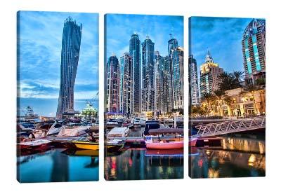 5D картина «Вечерний Дубай»