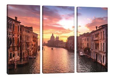 5D картина «Гранд-канал на закате»