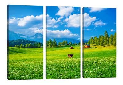 5D картина «Альпийская деревня»