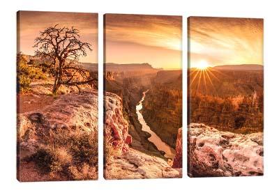 5D картина «Закат в каньоне»
