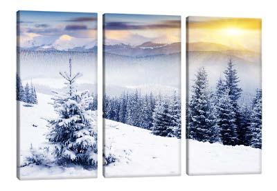 5D картина «Заснежные горы»