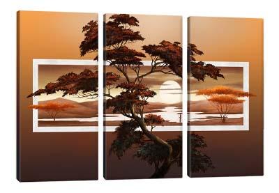 5D картина «Саванна на закате»