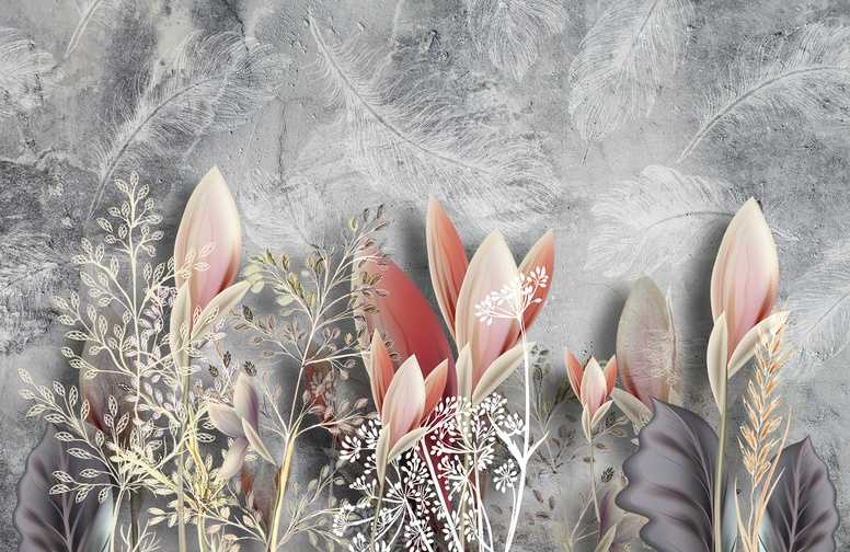 3D Ковры 3D Ковер «Коралловые соцветия» вид 1